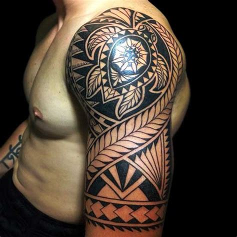 full maori tribal tattoo designs for men on calf tattoos