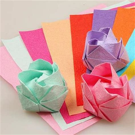 Creative Folding Paper - aliexpress buy 20 20 creative crumpled paper folding