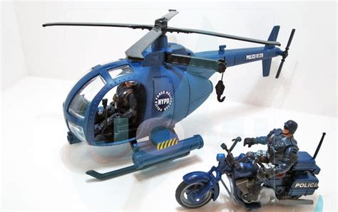 jomi toys auchans police force swat helicopter update