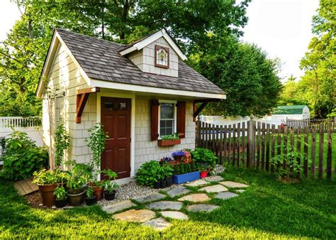 simply amazing garden shed ideas