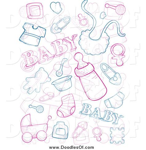 doodle doodle baby vector clipart of baby doodles by bnp design studio 1074
