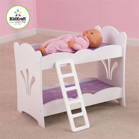 beds for dolls kidkraft lil doll bunk bed by oj commerce 60130 41 04