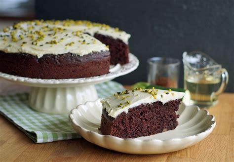 kuchen für ostern chocolate zucchini cake with truffle frosting usa