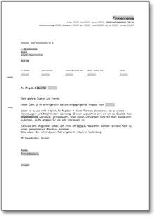 Musterbrief Englisch Absage Beliebte Downloads Office Unternehmen 187 Dokumente Vorlagen