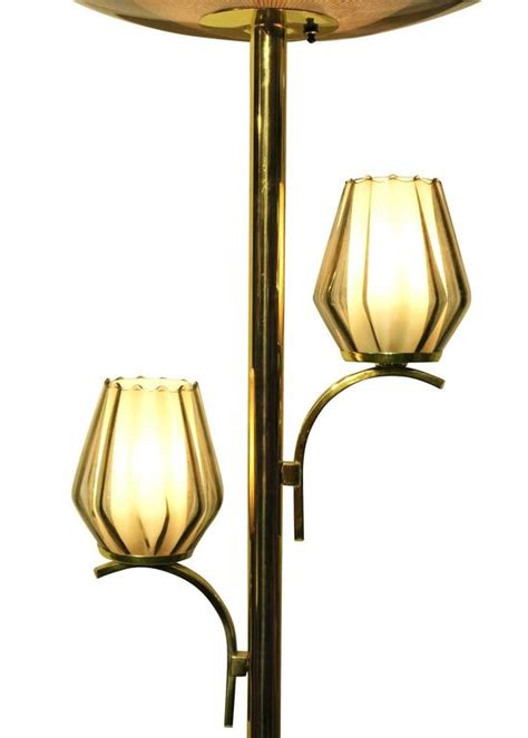 Floor To Ceiling Light Pole Brass Light Floor To Ceiling Tension Pole L For Sale At 1stdibs