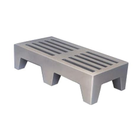Dunage Rack by Win Holt Plsq 5 1222 Gy Dunnage Rack Perforated 1 Tier