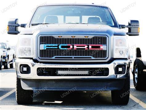 ford f250 led light bar 2011 16 ford f 250 f 350 superduty 200w high power led