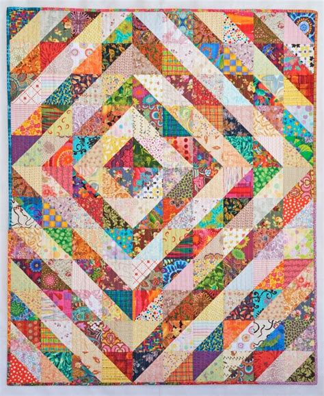 Triangle Patchwork Quilt Patterns - best 25 triangle quilts ideas on triangle