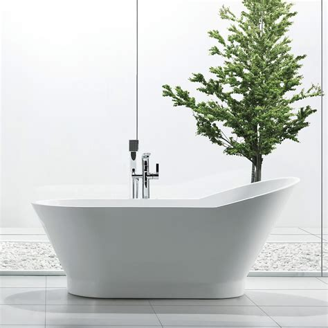 Freestanding Bathtub Canada jade bath blw1866 67 riviera freestanding soaking