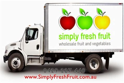 fruit delivery simply fresh fruit delivery truck www simplyfreshfruit