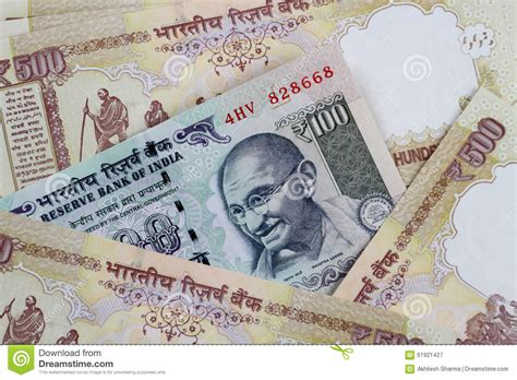 currency inr indian currency rupee inr bank notes stock photo image