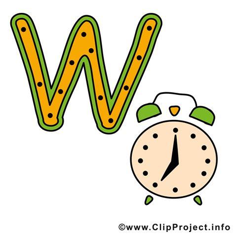 Armbanduhr Englisch by W Is For Buchstaben Zum Drucken