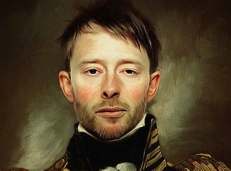 tutorial photoshop oil painting effect thom yorke photoshop portrait in oils with realistic texture