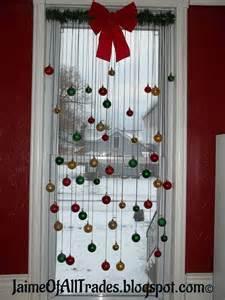 hometalk diy christmas window decoration