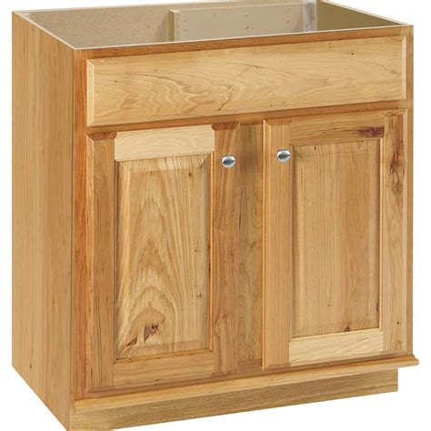 hickory bathroom vanities shop style selections cotton creek natural traditional
