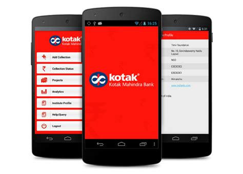 kotak mahindra bank banking kotak rolls out mobile banking app with no