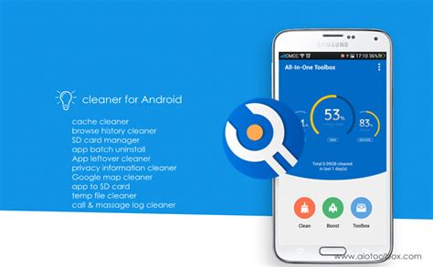 best cleaner for android how to clean up your android with all in one toolbox