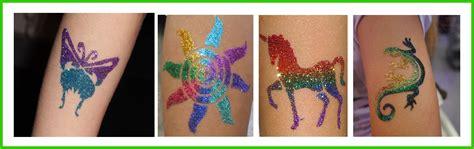 glitter tattoos glitter tattoos www mytonsoffun