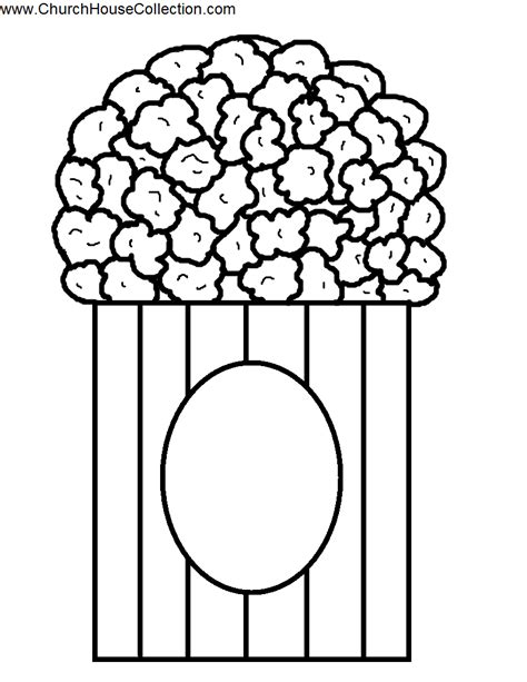 printable popcorn kernel template popcorn clipart printable pencil and in color popcorn