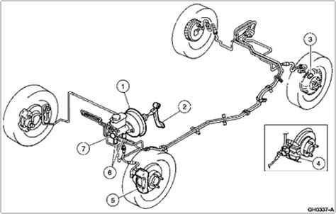 Brake Line Diagram For 1998 Ford F150 Brake System Diagram Questions Answers With Pictures