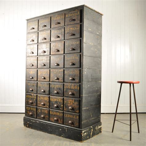 bank of apothecary drawers 1900 for sale at pamono