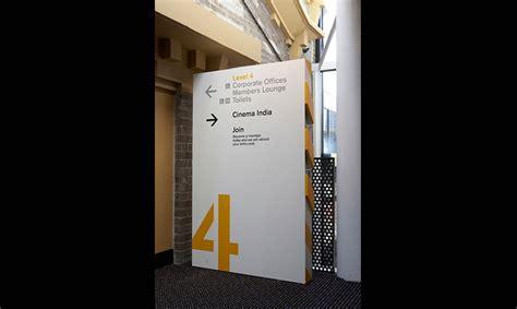 design art signs powerhouse museum wayfinding and graphics segd