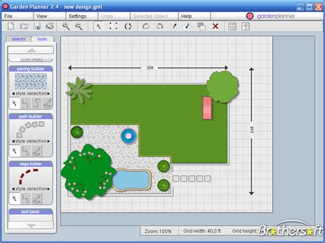 Marvelous Garden Design Tool 7 Free Garden Planner Software Smalltowndjs Com
