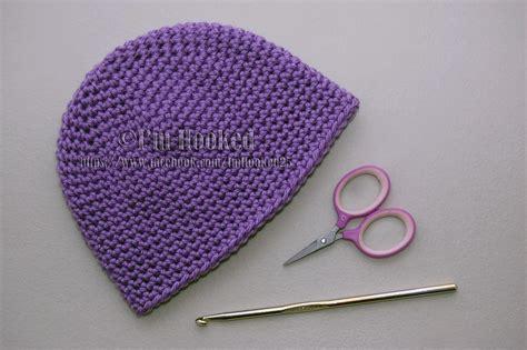 Basic Beanie crochet treasures basic beanie single crochet