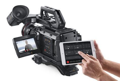 blackmagic design ursa frame rates nab 2017 blackmagic ursa mini pro 4 6k to get remote