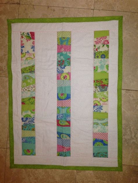 Baby Jelly Roll Quilt by Baby Quilt Jelly Roll Make It