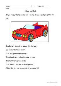 My Car Essay by My Favourite Worksheet Free Esl Printable Worksheets Made By Teachers