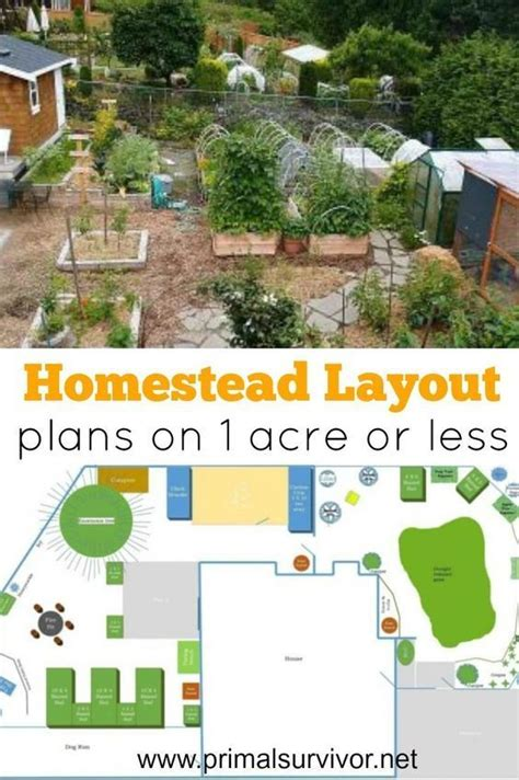 one acre homestead here s what to plant raise and build best 25 homestead layout ideas on garden planting layout raised garden beds and