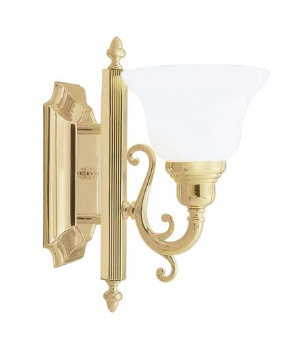 livex lighting french regency polished brass three light livex lighting french regency 1 light bath light in