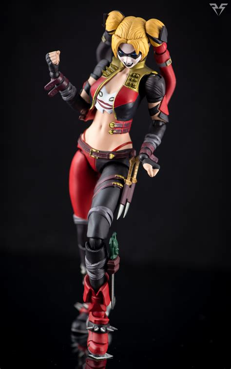 We107 Shf Harley Quinn Injustice Ver figuarts harley quinn injustice ver by plasticsparkphotos on deviantart