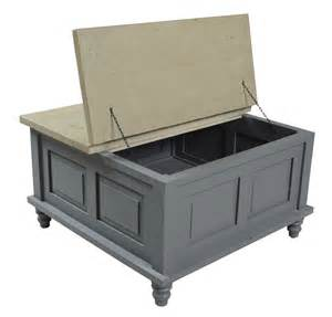 shabby chic trunk coffee table painted pine shabby chic square grey trunk