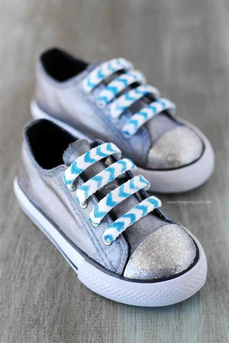 diy mod podge shoes chevron glitter shoe laces discover more ideas about