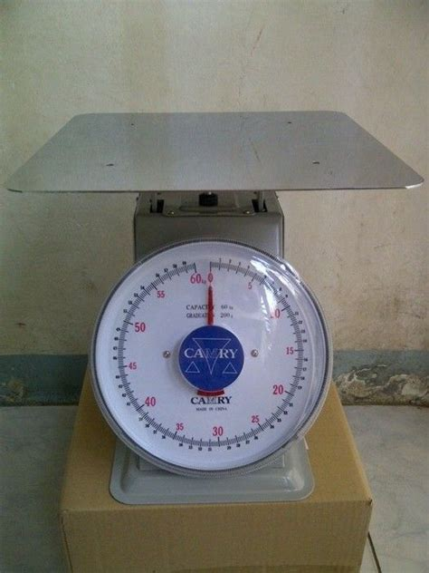 harga timbangan duduk manual merk camry kapasitas 30kg