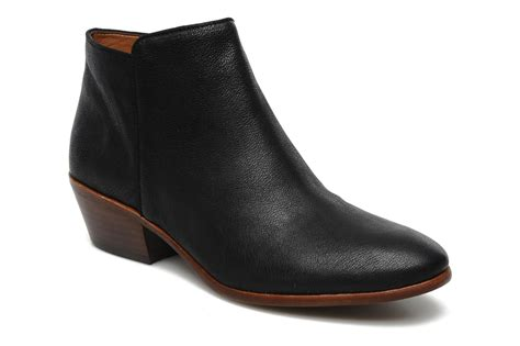 sam edelman petty ankle boots in black at sarenza co uk