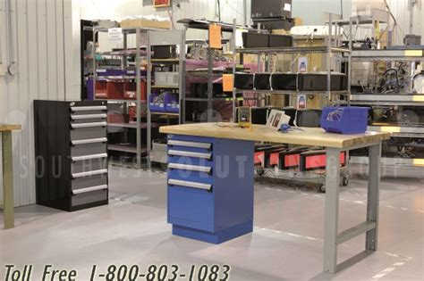 workbench storage drawer cabinet storing repair shop tools small factory parts