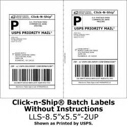 Package Mailing Label Template by Why Can T I The Barcode On My Usps Shipping