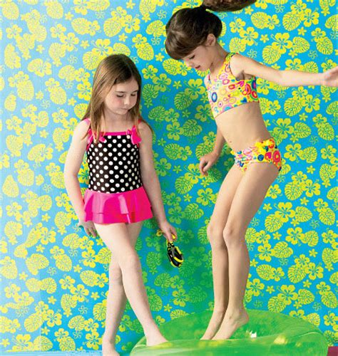 girls swimsuit sewing pattern kwik sew 3998 girls cover up and swimsuits