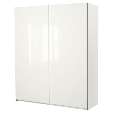 ikea pax wardrobe door pax wardrobe with sliding doors hasvik high gloss white