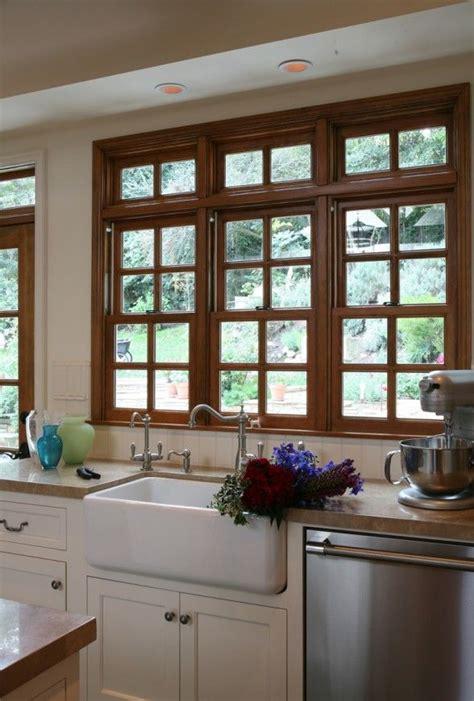 wood windows wood trim oak trim wood countertops kitchen