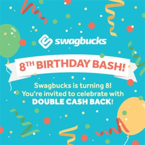 Swagbucks Sweepstakes - swagbucks birthday bash savings broke student supply