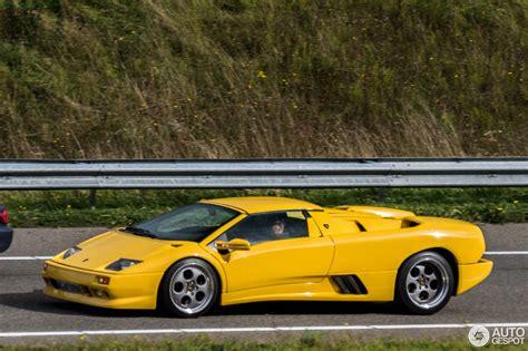 Lamborghini Diablo Vt Roadster by Lamborghini Diablo Vt Roadster 7 October 2015 Autogespot