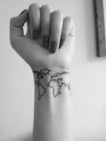 Map Of The World Tattoo by World Map Tattoos Bast Magazine