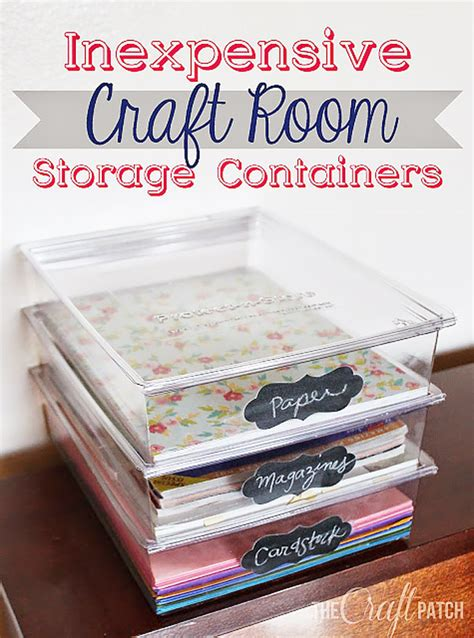 50 Clever Craft Room Organization Ideas   DIY Joy