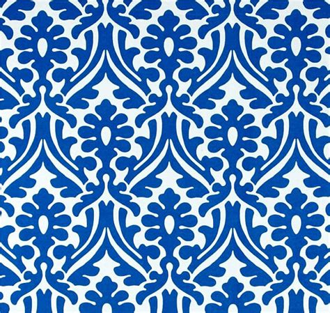 royal blue curtain fabric royal blue designer outdoor fabric damask print home decor