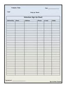 sign up sheet template excel 40 sign up sheet sign in sheet templates word excel