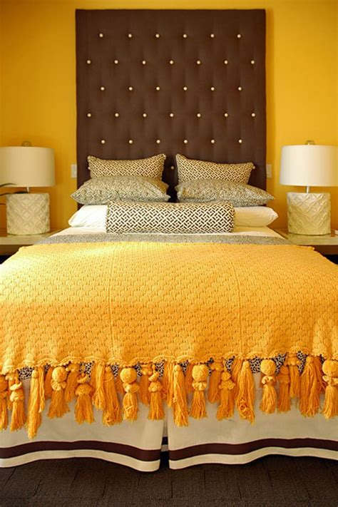 yellow orange bedroom marigold color palette marigold color schemes hgtv